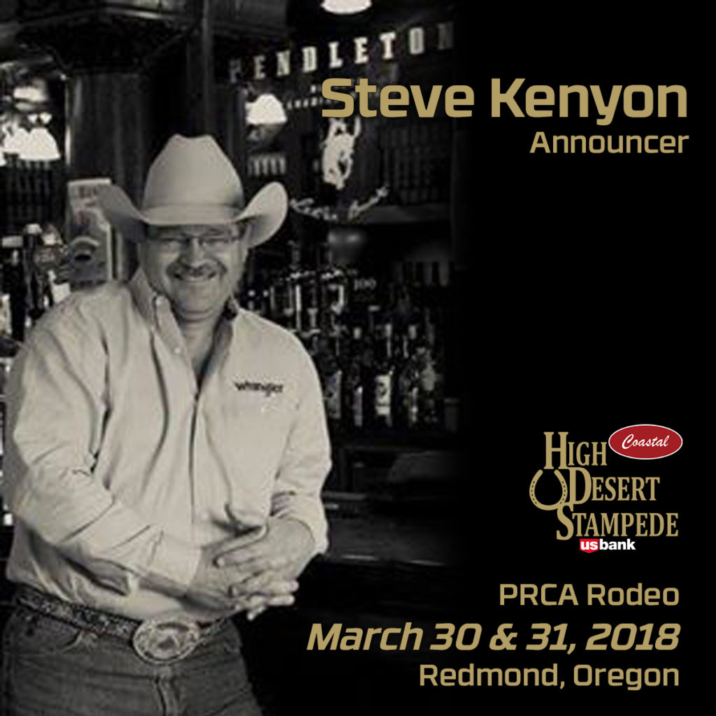 Professional Rodeo Announcer Steve Kenyon