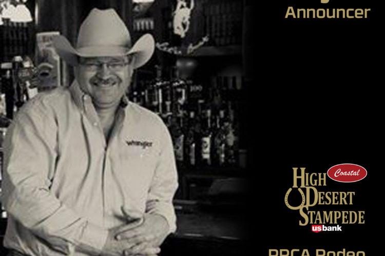 Professional Rodeo Announcer Steve Kenyon