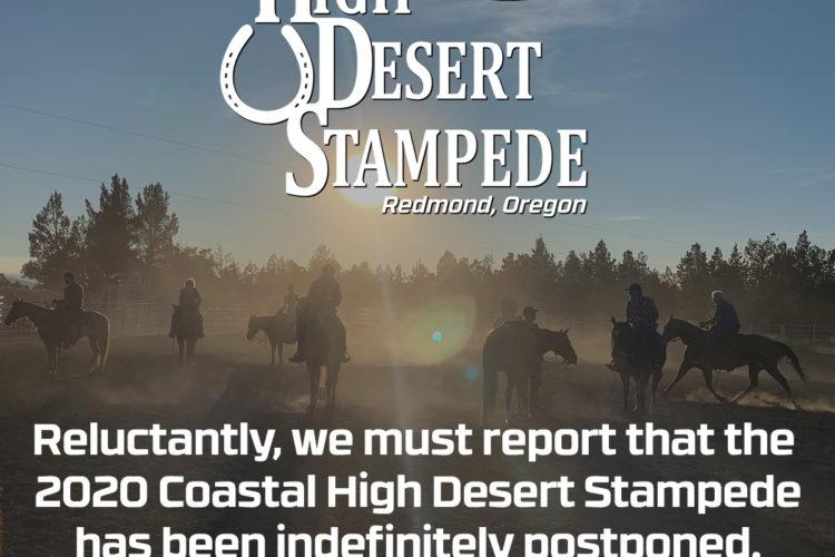 Governor Brown's order cancels 2020 Coastal High Desert Stampede due to COVID-19